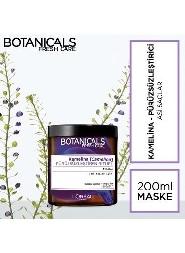 L'Oréal Paris Botanicals Fresh Care Kamelina Pürüzsüzleştiren Ritüel Maske 200 ml Renksiz